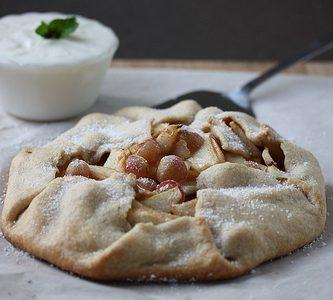 Velsmagende fransk pæretærte
