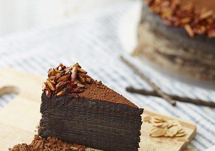 Giv den traditionelle chokoladekage mere liv