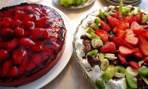 Lækker kage hos Mormors Café
