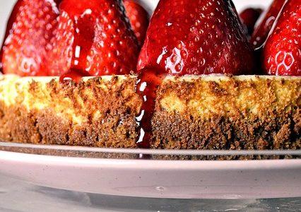 Lækker og velsmagende cheesecake