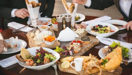 Firma frokostordning med luksusmad leveret hver dag